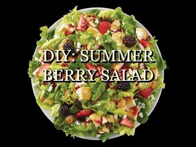 "DIY:  Summer Berry Salad ""Inspired by  Panera Bread"""