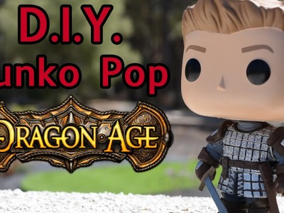 Dragon Age Alistair DIY Custom Funko Pop Tutorial