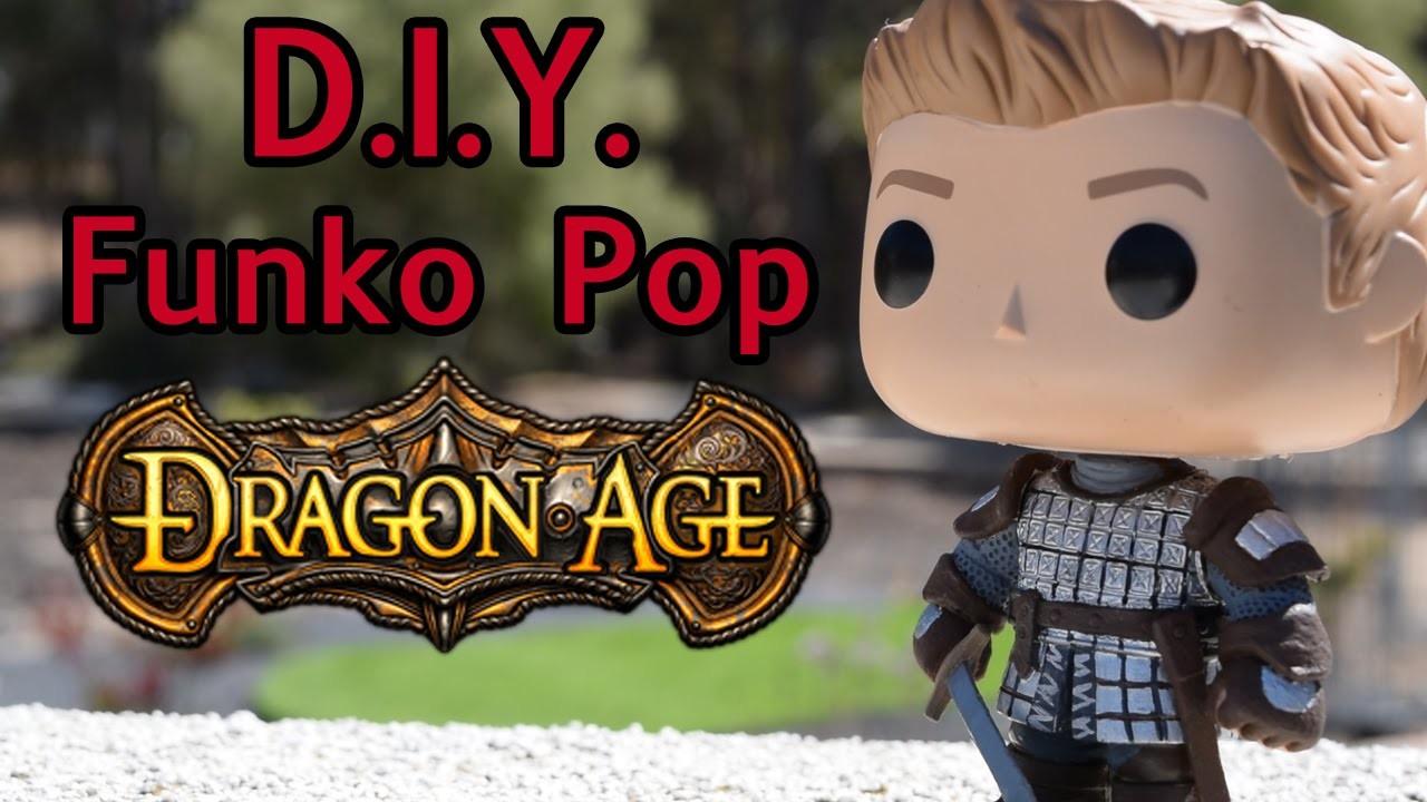 Dragon Age Alistair DIY Custom Funko Pop Tutorial