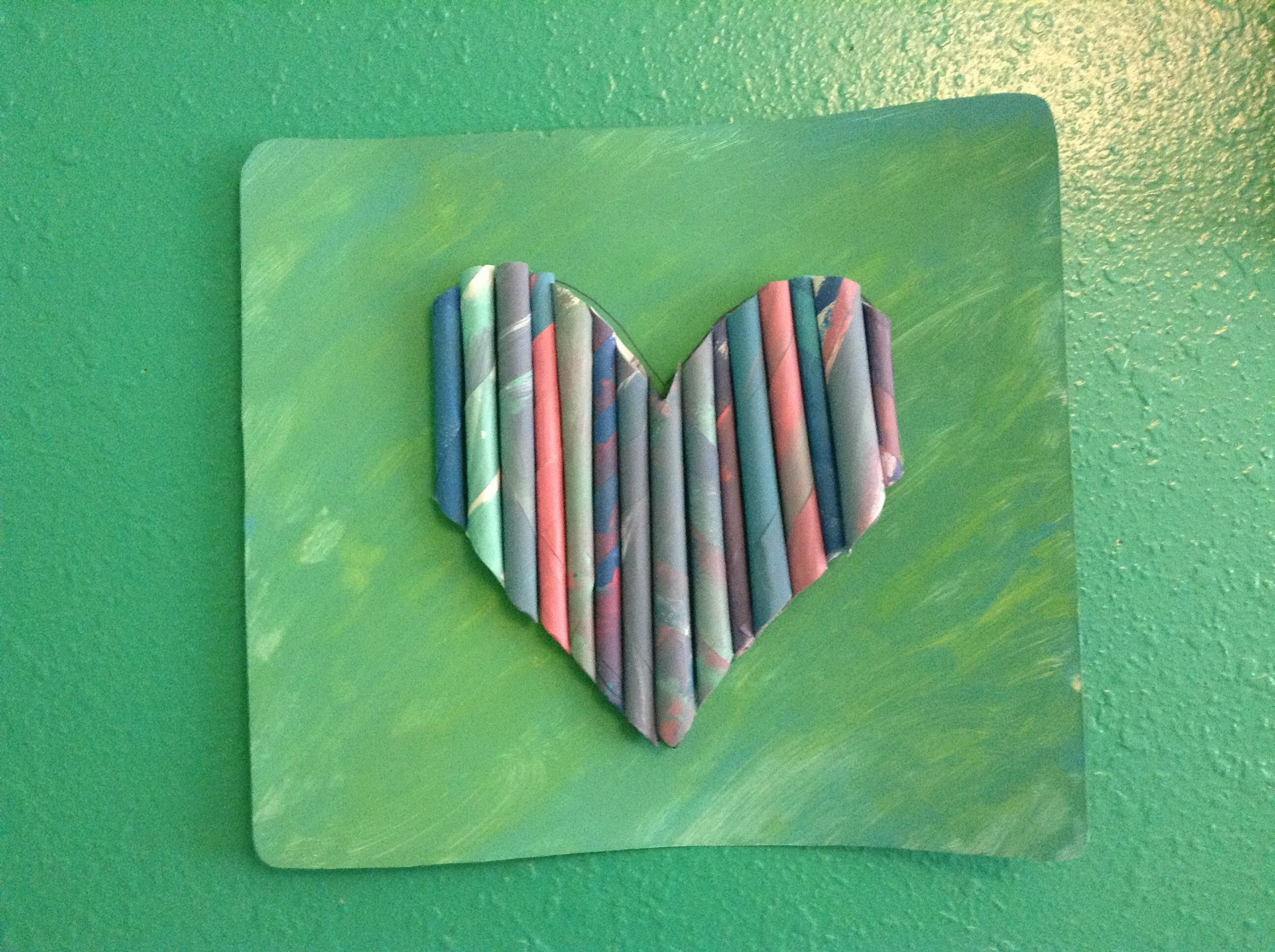 Easy Paper Wall Art ~Fun Things To Do In The Summer #3 ♡ Sam ♡