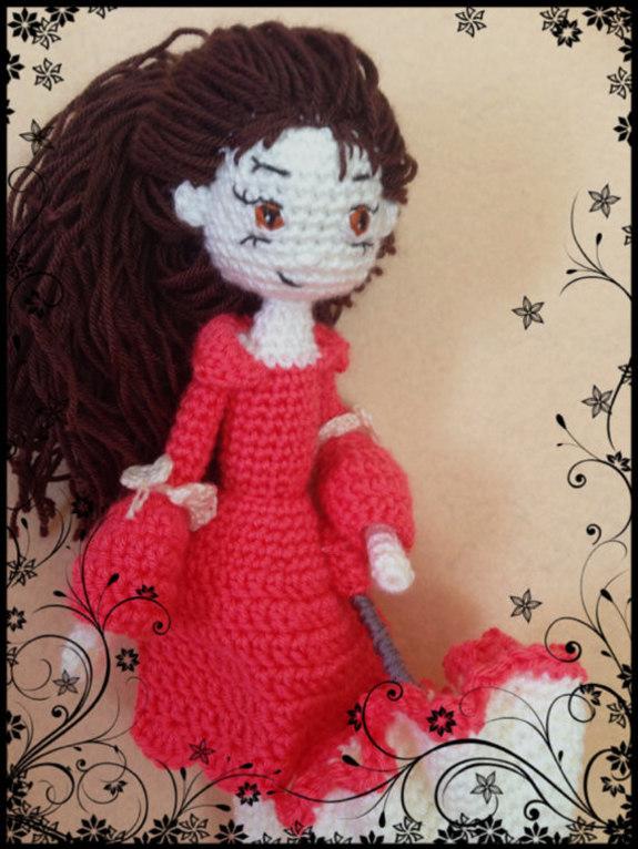Amigurumi Hello Kitty Crochet Pattern : Girl With Umbrella Amigurumi Crochet Pattern - iremdesign ...