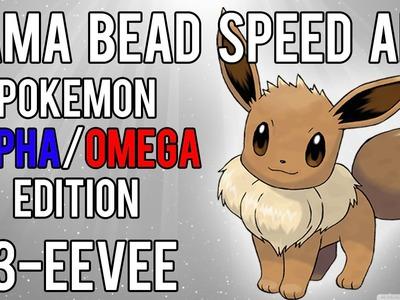 Hama Bead Speed Art | Pokemon | Alpha.Omega | Timelapse | 133 - Eevee