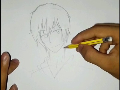 How To Draw Cool Anime Character Step By Step