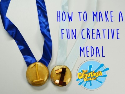 How To Make A Crafty Medal