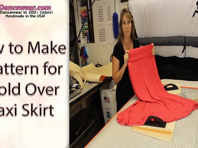How to Make a Pattern for a Foldover Maxi Skirt