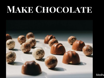 How To Make Chocolate at Home | Hershey's Kisses Chocolate