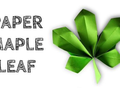 How to make: Paper Maple Leaf