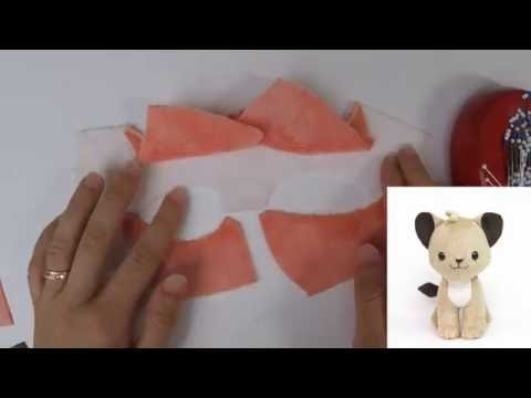 How to make plush: Pinning curved concave edges