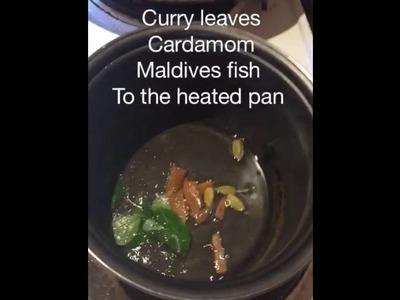 How to make seeni sambol (srilankan)