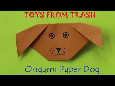 Origami Paper Dog    Kannada
