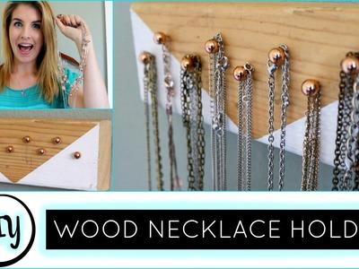 Wood Jewelry Holder | DIY