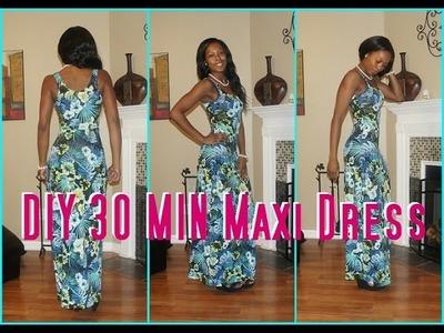 #4 DIY 30 Min Maxi Dress -Derri's Diary| Sew Derri