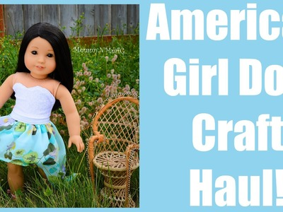 American Girl Doll Craft haul!! DIY Craft Supplies!