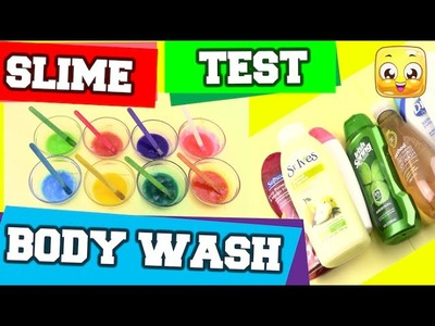 BEST Body Wash Slime DIY Without Glue, Borax or Liquid Starch! Slime Test