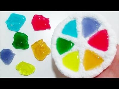 Como hacer una Rueda de Colores Arcoiris con Play Foam y Slime Masa de espuma