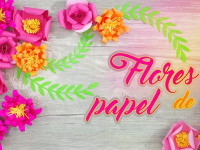 CRAFT: FLORES de PAPEL ✿