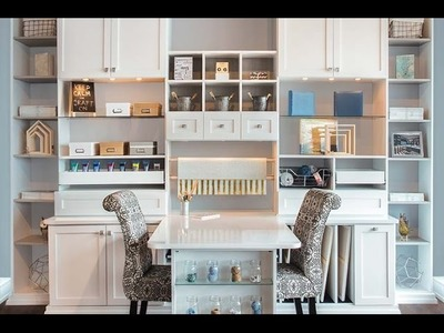 Custom Craft Room and Art Studio Design for Maximum Organization