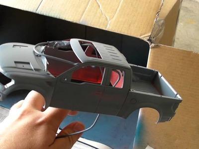 Custom Gunmetal 1:25 Ford SVT Raptor: Spray Can Painting Tutorial