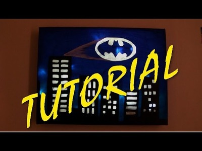 D.I.Y. Batman Canvas Light