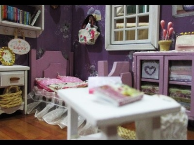 DIY : #145 Miniature Doll House With Full Furniture ♥