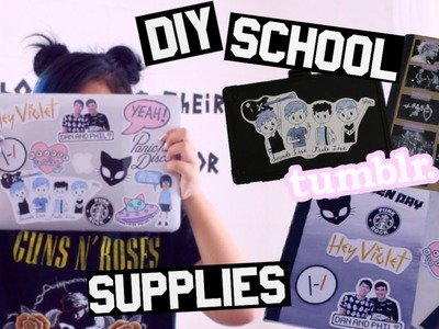 DIY 5SOS.BAND.TUMBLR  School Supplies Part 2