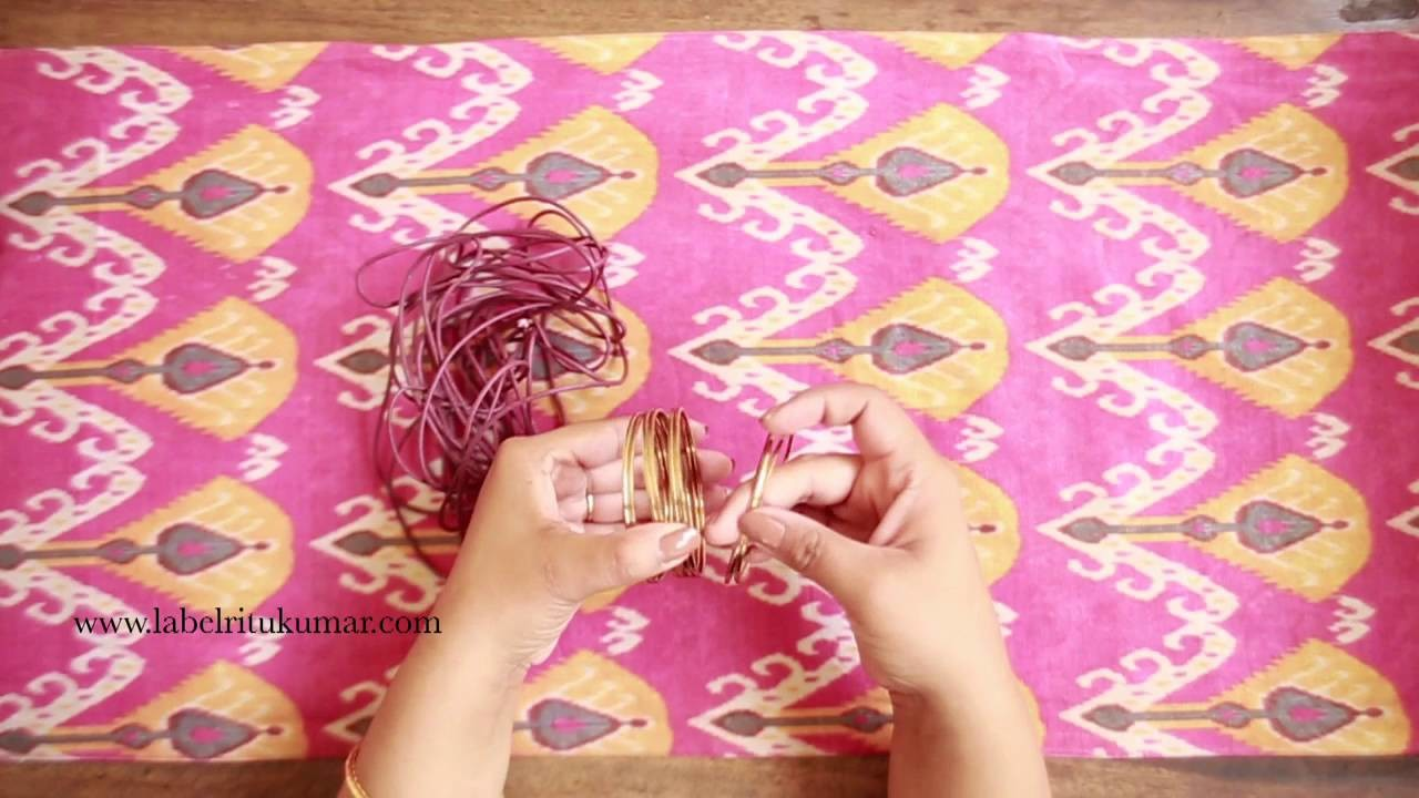 DIY Crafts, How to make a bracelet from simple accessories at home   Style Indi   Indi In The City