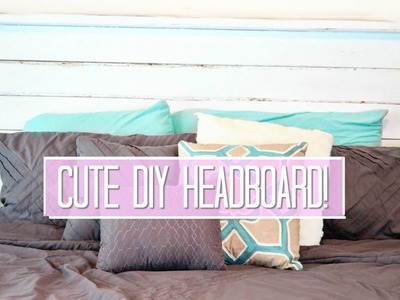 DIY How-to Make a Headboard - Easy Build Video!