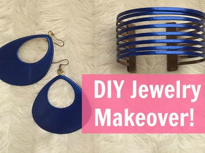 DIY Jewelry Makeover!!! Free and easy!