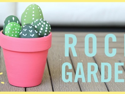 DIY l Rock Garden (Fun Kid's Craft!)
