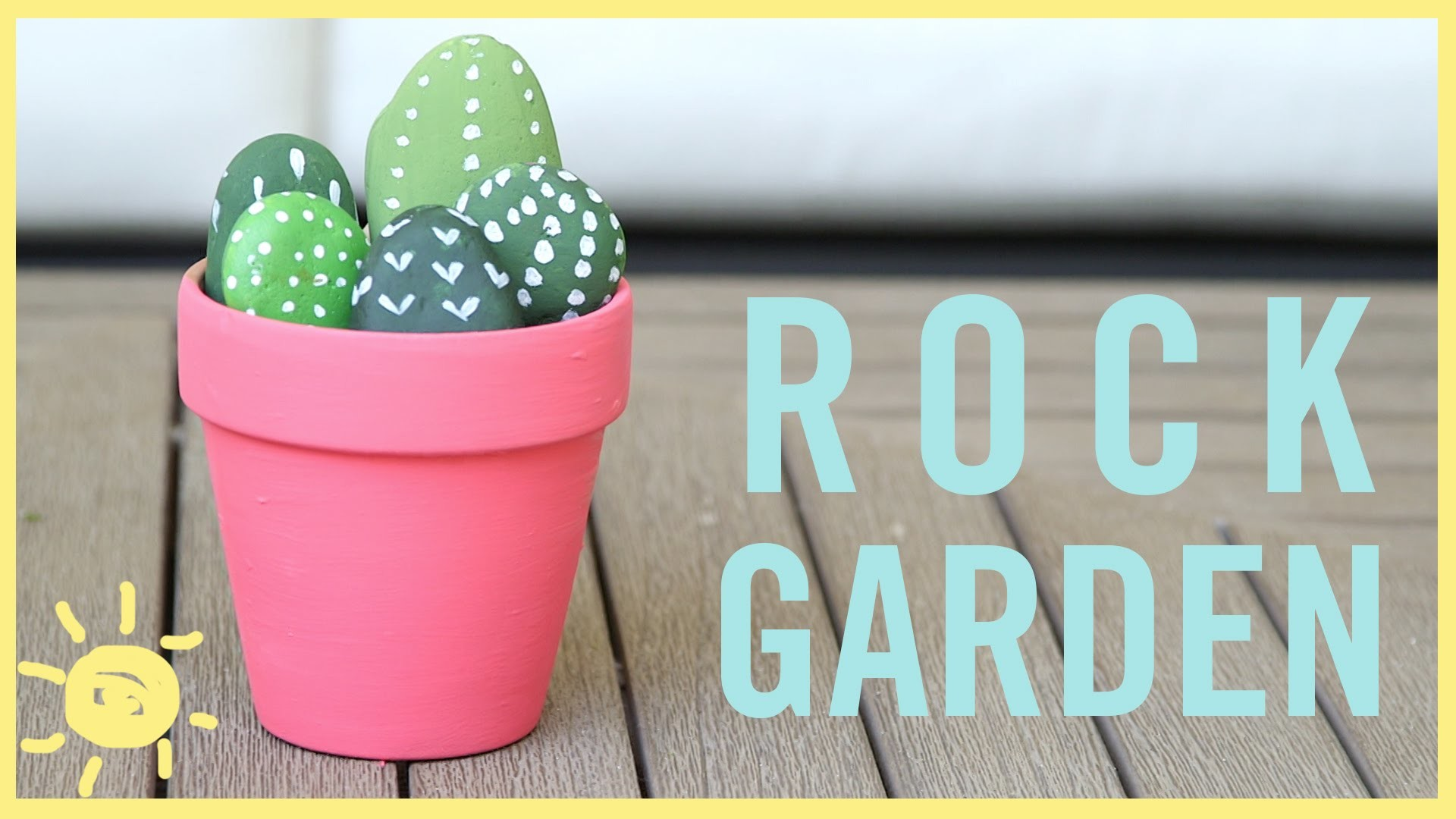 DIY l Rock Garden (Fun Kid's Craft!)