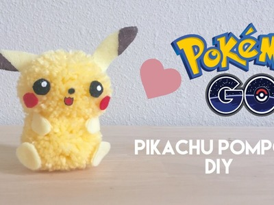 DIY Pokemon GO Pikachu Pom Pom Craft