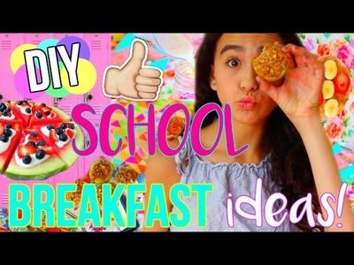 DIY Quick & Easy Back to School Breakfast Ideas!