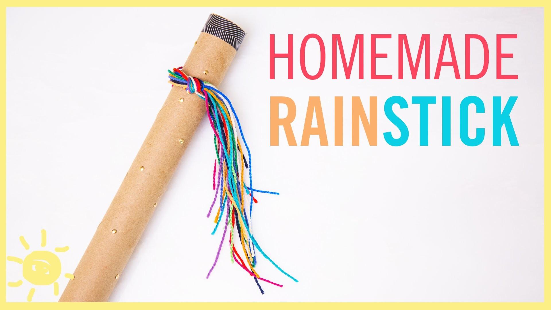 DIY | Rainstick (Fun Kid's Craft!)