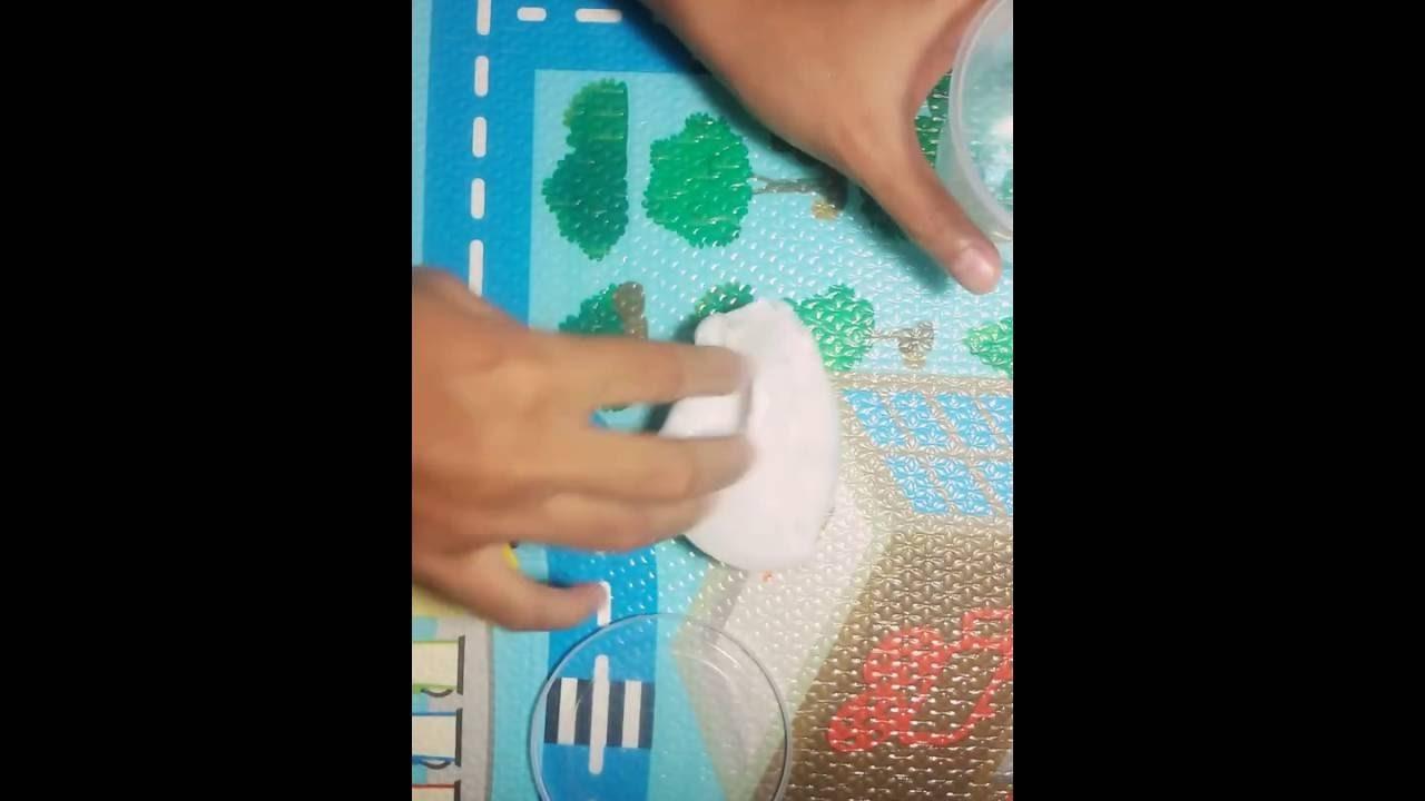 DIY tofu slime tutorial - BHS INDO (EASY)