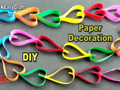 Easy Paper Decorations | #EcoFriendly #GanpatiDecoration  | How to make | JK Eeasy Craft  186