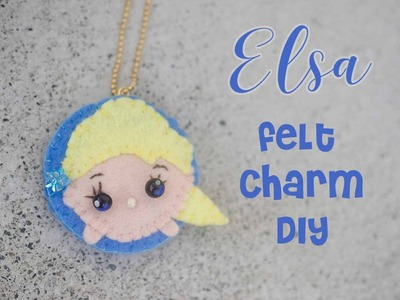 Frozen Elsa TsumTsum Felt Charm DIY Craft Tutorial | Feat. Cute Craft