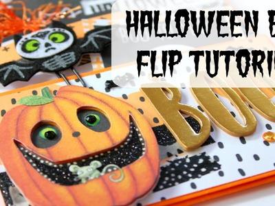 Halloween Bag Flip Tutorial | Halloween Craft Series 2016 #1 | Serena Bee