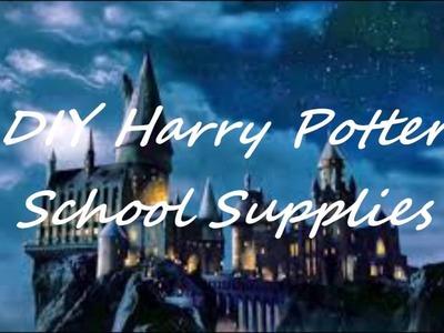 Harry Potter Back to School DIY Supplies