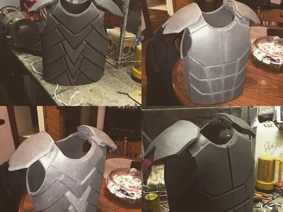 How I made my E.V.A foam armor