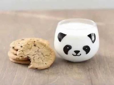 How to draw DIY panda mug