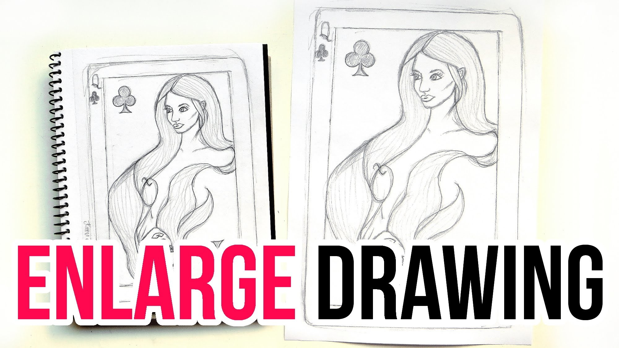 How to Enlarge a Drawing || Art Tips