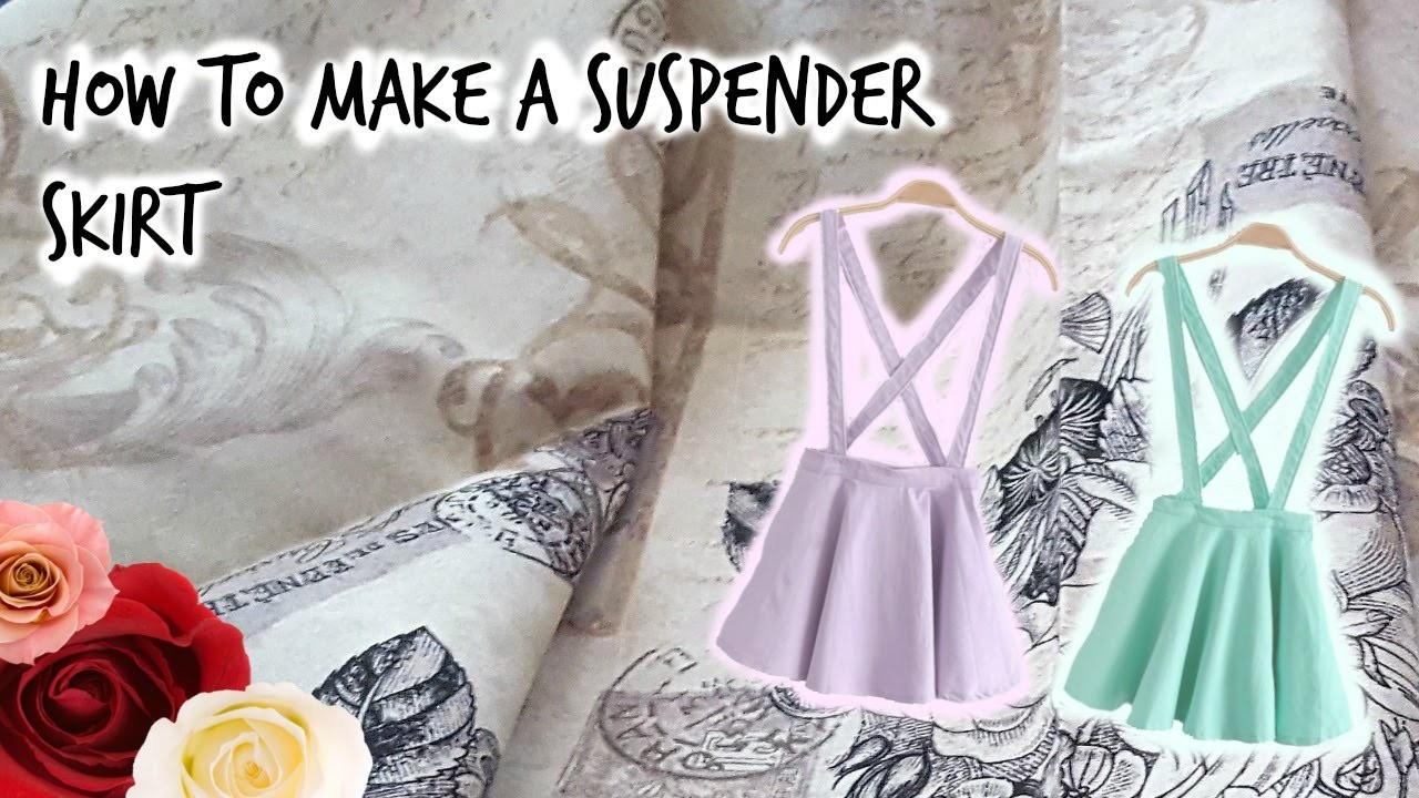 How to make a suspender skirt