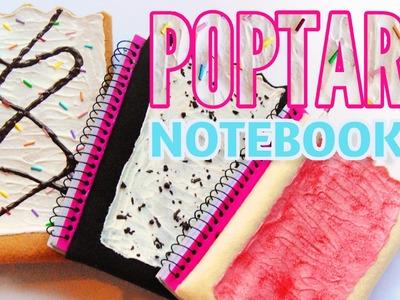 HOW TO MAKE Poptart Notebooks-Back to School DIY-Weird School Supplies