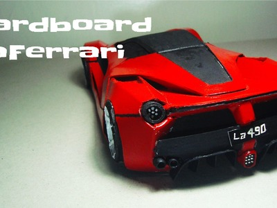 How To Make The LaFerrari (part 1)