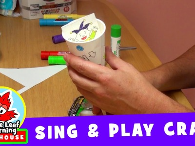 Jack in the Box | Sing and Play Craft | Maple Leaf Learning Playhouse