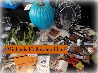 Michaels Halloween 2016 Craft & Decor Haul & Shopping