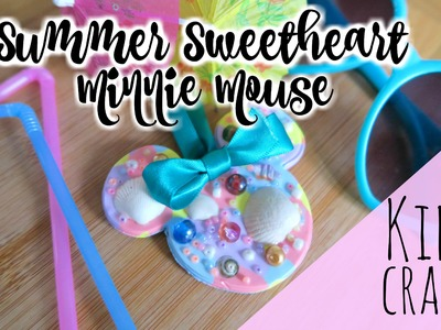 Minnie Mouse KIDS CRAFT colab with RED TED ART || Disney || Childrens Activity