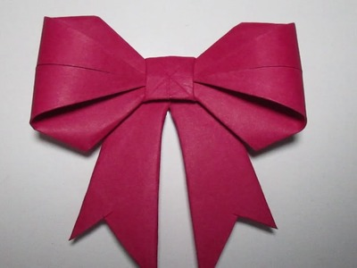 Paper Bow - How To Make Paper Bow Easy