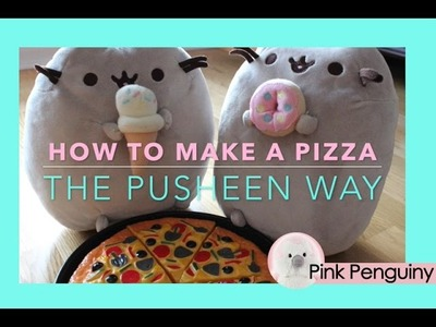 Pusheen the Cat short Film: How to Make a Pizza