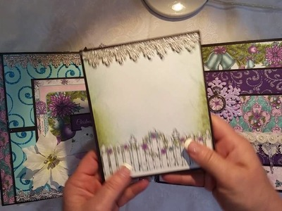 *SOLD* Heartfelt Creations Christmas 8x8 Mini Album for Craft Fantastic DT